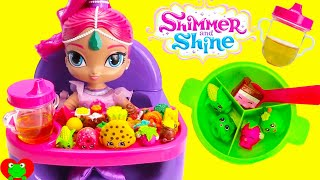 Best Toy Food Learning Video With Baby Shimmer