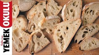 Ekşi Mayalı Ekmek Tarifi | Burak