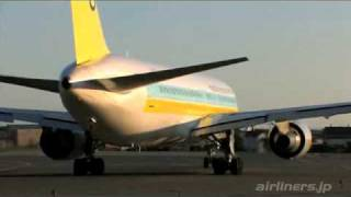AIRDO B767 at HAKODATE