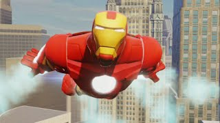 Disney Infinity 2.0 - Marvel Super Heroes - Iron Man Crossover Coins & Missions - Spider-Man Part 12