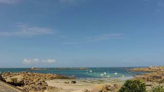 Time Lapse à Kerlouan en Bretagne, à Neiz Vran (27 07 2017)