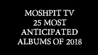 Most Anticipated Albums of 2018