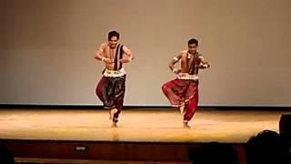 central university of rajasthan's foundation day .. odishi dance by Dr. saswat joshi