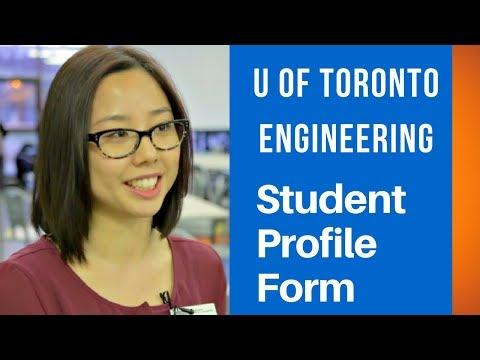 U of T Engineering Student Profile Form