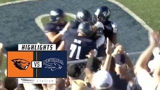 Oregon State vs Nevada Football Highlights (2018) | Stadium