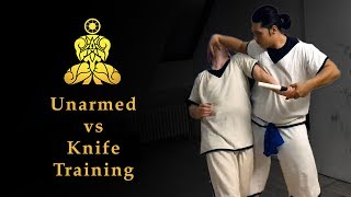 MIED - Unarmed vs. Knife Attacker Training