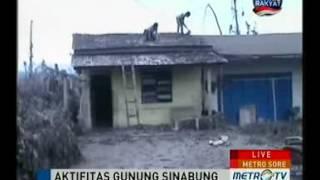 Pengungsi Gunung Sinabung Saat Ini Mencapai 25.516 Jiwa