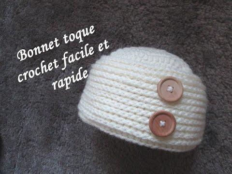 Tuto Easy Hat Gorro Facile Bonnet Toque Crochet Relief vqwUavrS 193e4defd63