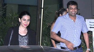 Karishma Kapoor Spotted With Boyfriend Sandeep Toshniwal Leaving A Party
