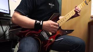 HEAVY CHAINS / LOUDNESS  Guitar Cover