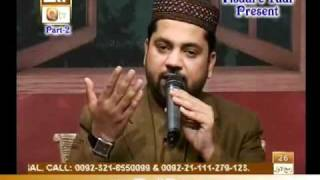 Naat Zindagi Hai( Sarwar Hussain Naqshbandi,P-2)In Qtv.By Visaal
