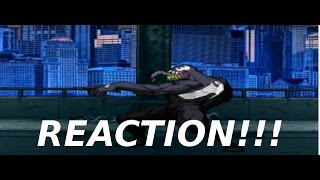 AnimationRewind: VENOM vs BANE! Cartoon Fight Club Episode 108 REACTION!!!