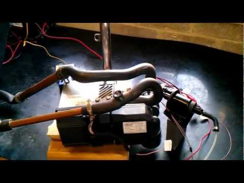 Webasto Thermo Top C Diesel Water Heater 12V Boat Camper 7days timer BENCH TESTING WIRING