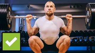 The Perfect Squat - Do it right!