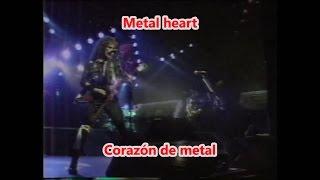 Accept - Metal Heart - En Vivo (Subtitulos Español - Lyrics)