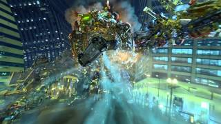Transformers: The Ride - Universal Studios Hollywood B-Roll Video Footage
