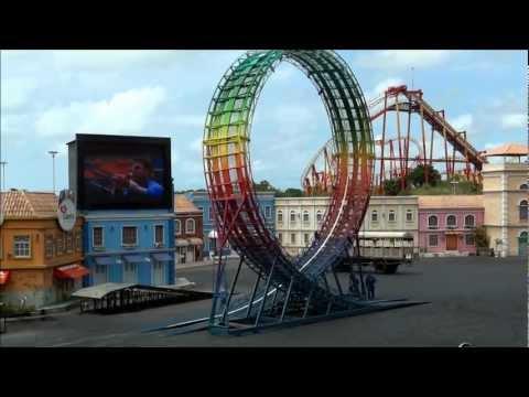 Extreme Show Completo Beto Carrero S Acidente Carros Motos Caminhão e Looping Fatal