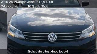 2016 Volkswagen Jetta SE 6A for sale in Orlando, FL 32807 at