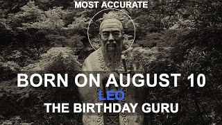Born On August 10   Birthday   #aboutyourbirthday   Sample