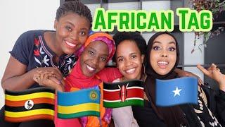 AFRICAN TAG(East African Tag)Rwanda,Uganda,Kenya and Somali