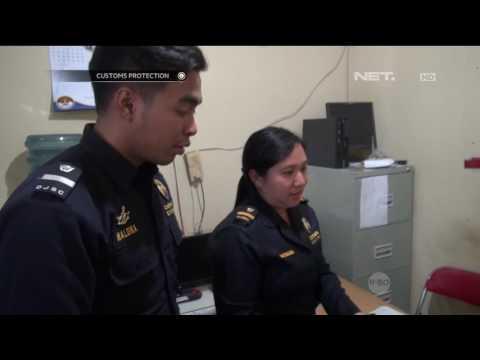 Penemuan Narkoba Dibalik Kerudung, Ibu ini Mengaku Tidak Tahu - Customs Protection