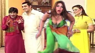 Best of Sajan Abbas,Nargas and Saima khan New Pakistani Stage Drama Full Comedy Clip,mujra 2017 HD
