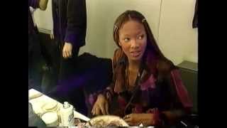 Naomi Campbell en House Of Style • 1992 • Milan fashionshows  Casting and shows