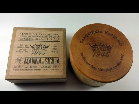 New in the Den - Saponificio Varesino Manna Shaving Soap