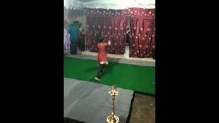 Baby Tulasi dance
