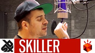 SKILLER  |  Grand Beatbox Battle STUDIO SESSION