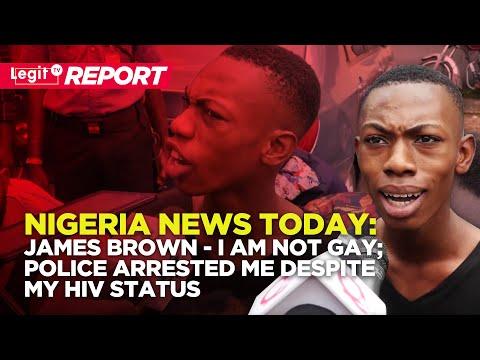 Xxx Mp4 Nigeria News Today James Brown I Am Not GAY Police Arrested Me Despite My HIV Status Legit TV 3gp Sex