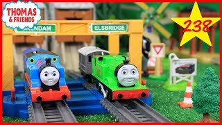 BIGGEST THOMAS AND FRIENDS The Great Race #238 TrackMaster Competition for Kids TOY TRAINS OF DAVID