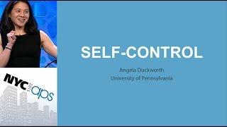 Angela Duckworth, University of Pennsylvania - Self-Control Stategies for School-Age Children