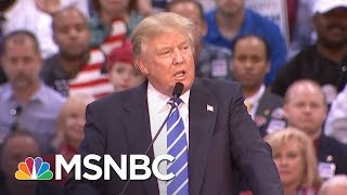 President Donald Trump Confronted On His False Claims About Taxes | All In | MSNBC
