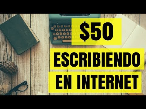 HOW TO MAKE $50 DOLLARS WRITING ONLINE
