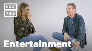 Ethan Hawke Full Interview on Blaze Foley, Robin Williams, & The Movies | NowThis
