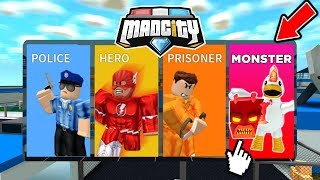 👾 Neues *MONSTER TEAM* In MAD CITY ROBLOX?!