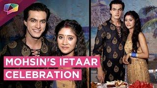 Mohsin Khan Celebrates Iftaar With Shivangi Joshi On The Sets Of Yeh Rishta Kya Kehlata Hai