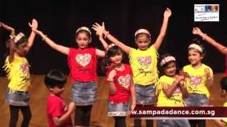 Kids dance performance on Sorry Sorry song by Sampada's Dance Studio students