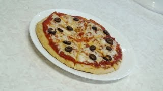 No Oven Pizza - Stove top Pizza - Video recipe by Bhavna