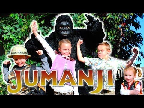 Jumanji 2 Kids In Real Life Kids Fun TV Fun Squad