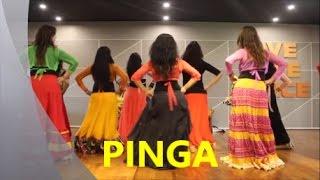 PINGA CHOREOGRAPHY# WEDDING SANGEET# RITU'S DANCE STUDIO # SURAT.
