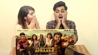 BEST INDIAN REACTION ON LATEST PAKISTANI MOVIE | INDIAN COUPLE REACTS NA MALOOM AFRAAD 2 |