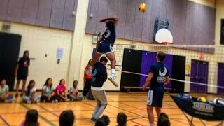 TOP 20 Craziest Volleyball Spikes Of All Time (HD)