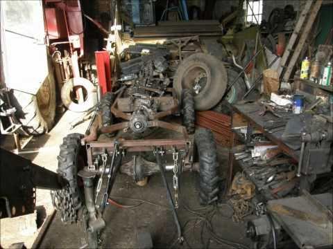 traktorek sam budowa część pierwsza.wmv