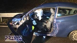 14.01.2014 - B 39 bei Mühlhausen: Schwerer Verkehrsunfall auf der Ortsumgehung