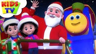 Jingle Bells   + More Christmas Songs 2018   Bob the Train - Kids TV
