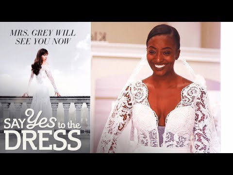 Fifty Shades Freed Inspires Bride! | Say Yes To The Dress
