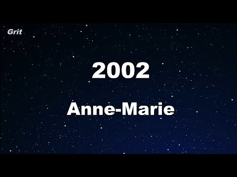 2002 Anne Marie Karaoke With Guide Melody Instrumental