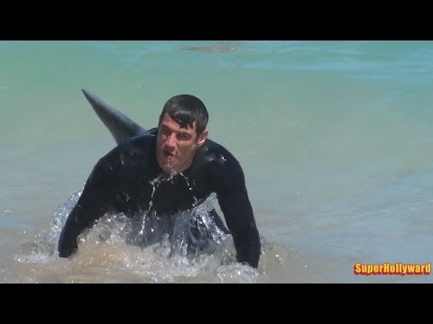 SHARK PRANK!!! Fort Lauderdale Beach